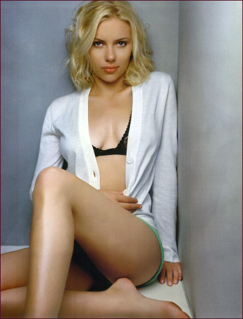 Scarlett johansson nude legs good idea